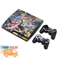VINILO PS3 PARA PLAYSTATION 3 SLIM CONSOLA Y DOS MANDOS EDICION TRANSFORMER