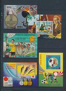 XC78430 Equatorial Guinea cycling athletics olympics sports fine lot MNH