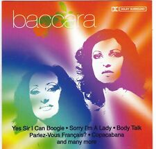 Baccara - Yes Sir I Can Boogie - Rare Best Of Album CD - UK Import - Cedar 1999