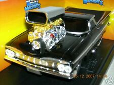 MUSCLE MACHINE 59 EL CAMINO BLACK 1:18 MIB.1OF 5,800L.E