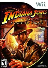 Indiana Jones and the Staff of Kings (Nintendo Wii, 2009) Complete  Fast Shippin