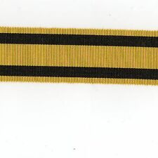 Medal Ribbon. British Ashanti Star.1896 Full Size. Sold in 6 Inch Lengths