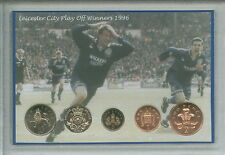 Leicester City The Foxes Vintage Play Off Final Winners Retro Coin Gift Set 1996