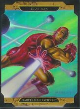Marvel Masterpieces 2 FOIL Iron Man A Chase Card
