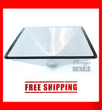 Bathroom Contemporary Squre Tempered Clear Glass Vessel Sink Bowl Basin - BSG006