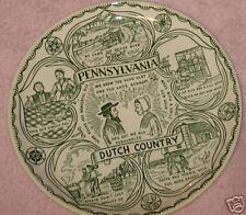Souvenir Plate Pennsylvania Dutch Country