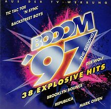BOOOM '97 THE SECOND - 38 EXPLOSIVE HITS / VARIOUS ARTISTS / 2 CD-SET