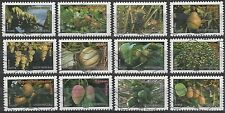 France 4186-4197 Fruits [12 USED Stamps] Issued 2012