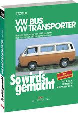 So wirds gemacht (Band 38) | VW Bus und Transporter von 10/82 bis 12/90