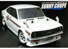 1/12 RC Car Body Shell  ABC HOBBY GENETIC DATSUN 1200 SUNNY COUPE BODY SHELL