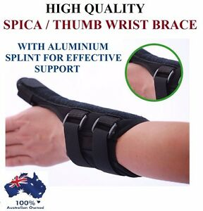Thumb Spica Splint Brace Support Sports Strap Wrist Stabiliser Arthritis Injury