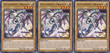 3x Yugioh YSKR-EN011 Alexandrite Dragon Common Card