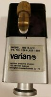 Varian 1243-L6281-301 High Vacuum Angle Valve NW16 A/O Used Working