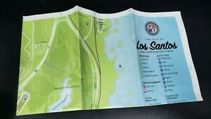 GTA GRAND THEFT AUTO 5 V LOS SANTOS XBOX 360 MAP ONLY - PERFECT!