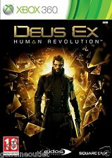 Deus Ex Human Revolution for Xbox 360 BRAND NEW SEALED