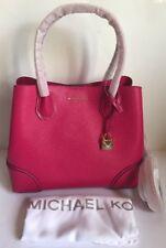 NWT!!Michael Kors Mercer Gallery Medium Leather Satchel In Ultra Pink $298