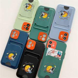 Case For Samsung S21 iPhone 6 7 8 11 12 Phone Flip Card Wallet Shockproof Cover