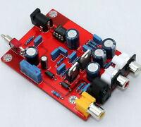 TDA1543 + CS8412 fiber coaxial decoder board