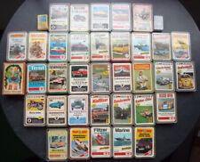 Quartette Autos Flugzeuge Eisenbahn Schiffe Sport, ca. 1964-1982