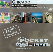 NEW 2006~MAP of CHICAGO-PocketPilot~20 TopSites-Pts.of Interest-Waterproof-1 Oz
