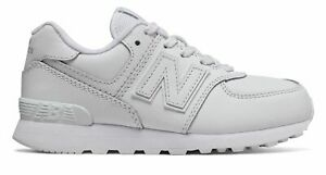 New Balance Kid's 574 Big Kids Male Shoes White