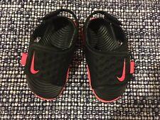 Toddler Nike Sandals Shoes Boy/Girl Black&Pink