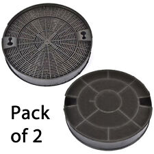 GORENJE DQGA65KR Genuine AH002 Cooker Hood Vent Extractor Round Carbon Filter x2