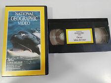 ORCAS LOBOS DEL MAR - VHS TAPE CINTA NATIONAL GEOGRAPHIC VIDEO