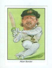 Allan Border Australia National Cricket Trading Cards
