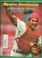 (2) 1972 SPORTS ILLUSTRATED JOHNNY BENCH 2nd COVER LOT ($20) SMR PETE ROSE REDS