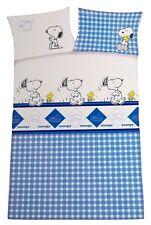 Snoopy/Peatnuts Renforce Baby Bettwäsche 100 x 135cm + Wendekissenbezug 40x60cm