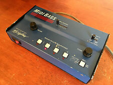 360 Systems Midi Bass Desktop Synthesizer Module. All 4 ROM Banks Included.