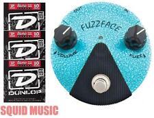 Dunlop FFM3 Jimi Hendrix Fuzz Face Mini Turquoise Guitar Pedal ( 3 STRING SETS )
