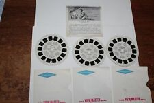 NICE VINTAGE  1950's SAWYER'S VIEWMASTER 3-FAIRY TALES REELS SET