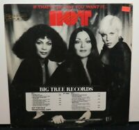 HOT IF THAT'S THE WAY YOU WANT IT (VG+) BT-76005 PROMO COPY LP VINYL RECORD
