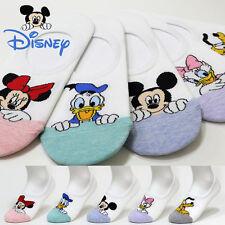 5 Pairs Women Socks Mickey Mouse Cartoon Disney Funny New Ladies Character Socks