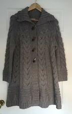 BNWOT M&S Woman Cardigan Coat Size M (12-14) Beige