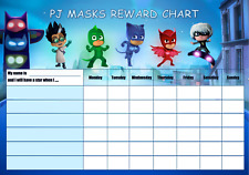 Kids reward chart includes star stickers + magnetic marker