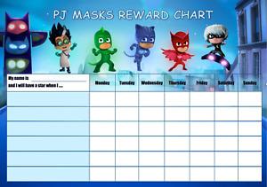 Kids reward chart includes star stickers + dry marker pen with eraser