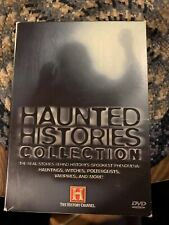 Haunted Histories Collection Volume 1 History Channel 5 disc set Dvd 2007