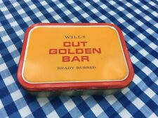 """Wills"" Cut Golden Bar Tobacco Tin"