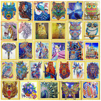 5D Diamond Painting Embroidery Cross Craft Stitch Kit Home Wall Decor with Tools
