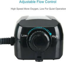 Uniclife UL40 Aquarium Air Pump Dual Outlet Used-No accessories