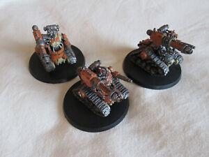 3 Adeptus Mechanicus Kataphron Destroyers *Warhammer 40,000* Games Workshop