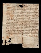 "Alexander Baine letter d/l "" Fort Lewis 2nd July 1799 "" Virginia to New London"