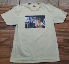 Supreme x Nan Goldin T-Shirt - Size L- Yellow SS18