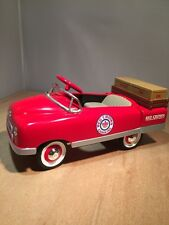 RED CROWN - 1948 BMC STAKE TRUCK PEDAL CAR by CROWN PREMIUMS