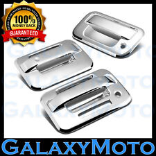 04-14 Ford F150 Chrome 2 Door Handle+keypad+no Passenger keyhole+Tailgate Cover