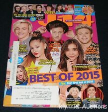 J-14 Magazine December 2015 One Direction Cameron Brec Nash Sabrina Dove Selena
