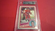 1984 Topps Steve Yzerman #49 Hockey Card Graded BGS 8.5